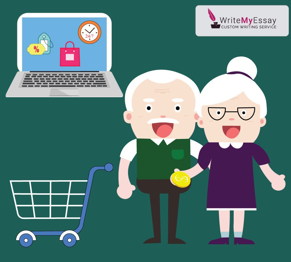Elderly clients are afraid of using online shops essay sample